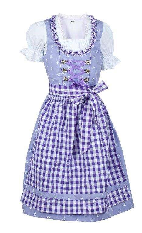 Lila kleid 104