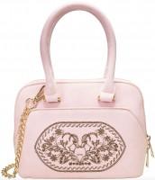 Vorschau: Trachtentasche Steinbock rosé