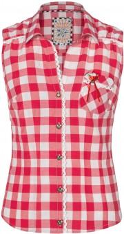 Tradycyjna bluzka Dalia czerwona