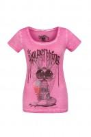 T-Shirt Wolpigirl pink