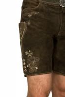 Vorschau: Lederhose Corbi dunkelbraun