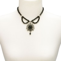 Vorschau: Perlen-Trachtenkette Aune schwarz