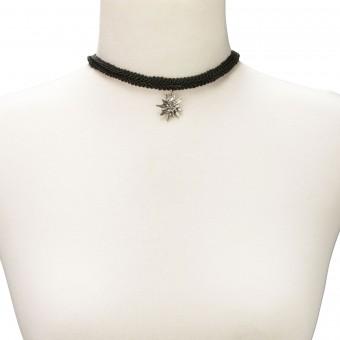 Kropfband schwarz Marlene