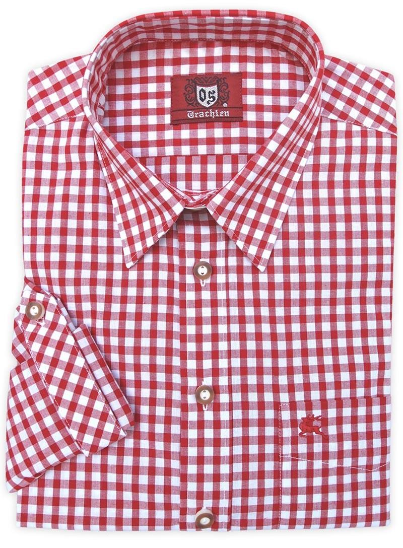 Trachtenhemd Philipp rot