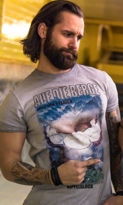 Koszulka Ulrik szara
