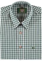 Trachtenhemd Bertl grün-weiß