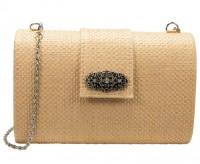 Vorschau: Trachtentasche Melena natur-braun