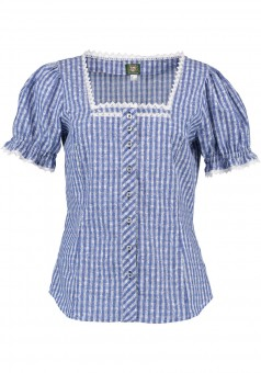 Ladies blouse Bine blue