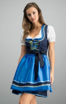 Dirndl Patty in blue