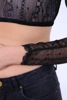 Vorschau: Dirndlbluse Lene schwarz