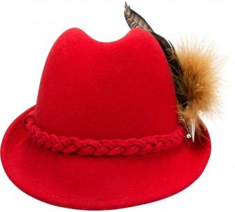 Filz-Trachtenhut Mia rot
