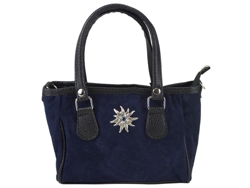 Mini Handtasche Edelweiß blau