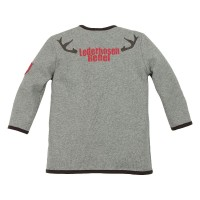 Preview: Kids Sweatjacke 'Lederhosen Rebel'