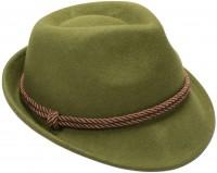 Vorschau: Trachten-Filzhut mit Kordel grün