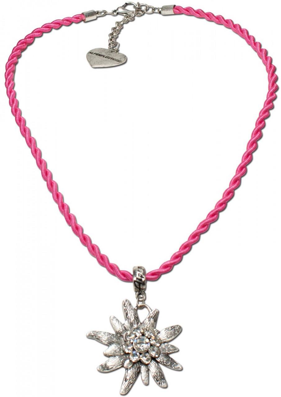 Trachtenkette Amelie pink