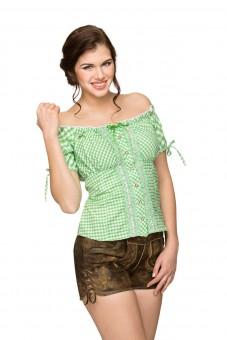Trachtenbluse Ely grün