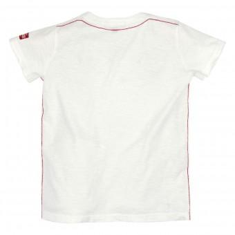 T-Shirt Platzhirsch weiß