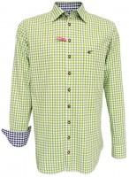 Vorschau: Trachtenhemd Loras hellgrün