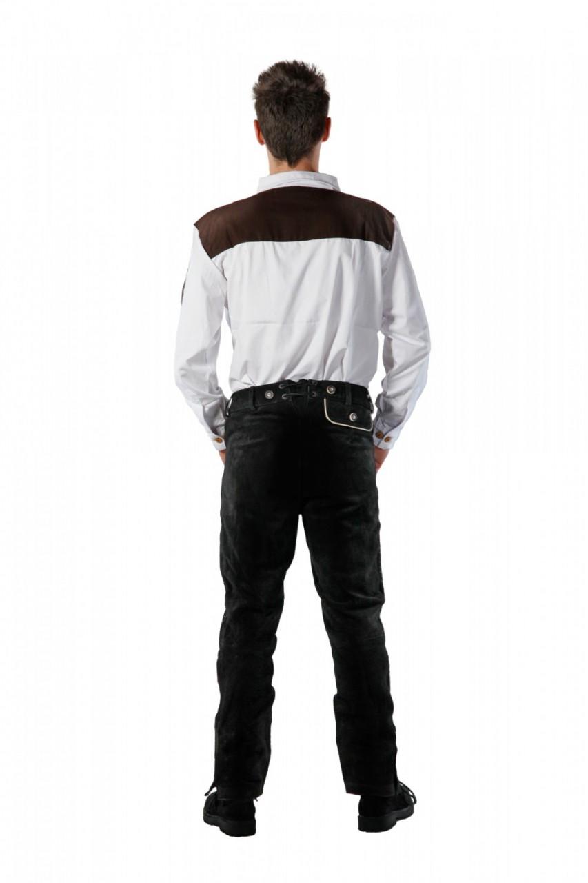 Lederhose Christian schwarz