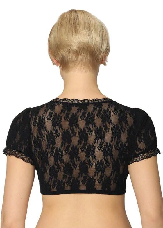 Dirndl blouse Mariella in black
