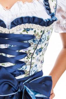 Dirndl Blue Roses