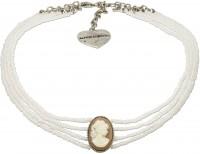 Vorschau: Perlenkropfkette Sissi weiß