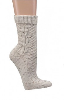 Trachten Socks with Cable Stitch