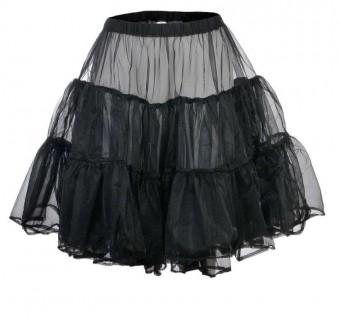 Petticoat schwarz kurz