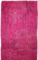 Vorschau: Trachtenschal Schneespuren pink
