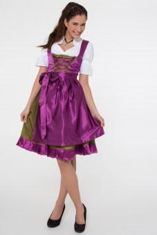 Dirndl Cecile, purple
