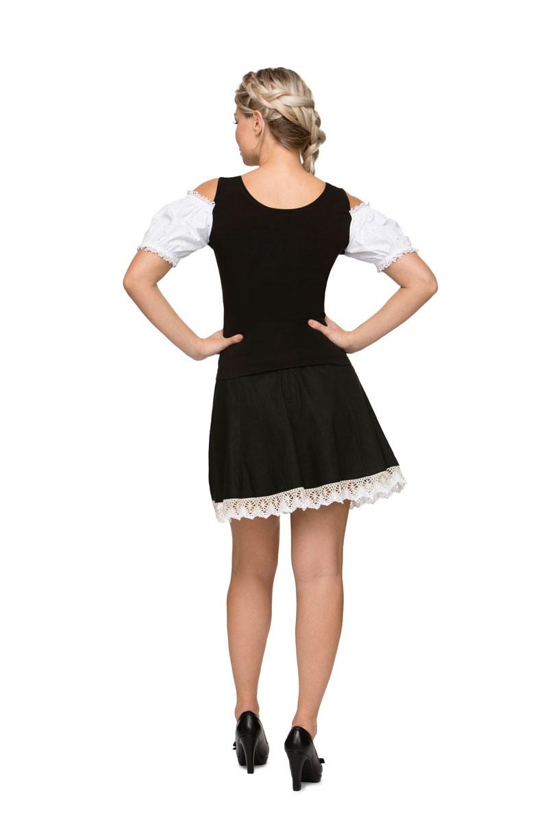 Tradycyjna koszula Nella czarna