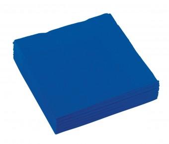 20 blaue Servietten 25cm