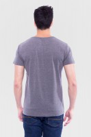 Preview: T-Shirt Wilder Hirsch grau