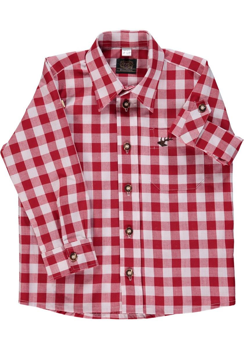 Dziecięca koszula Ederl czerwona