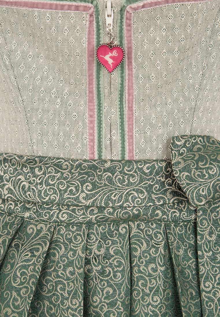 Leinendirndl Melita grün