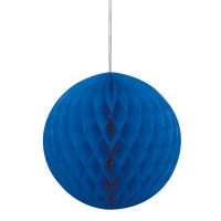 Vorschau: Wabenball in Blau 20cm