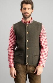 Traditional vest Jonas in bison