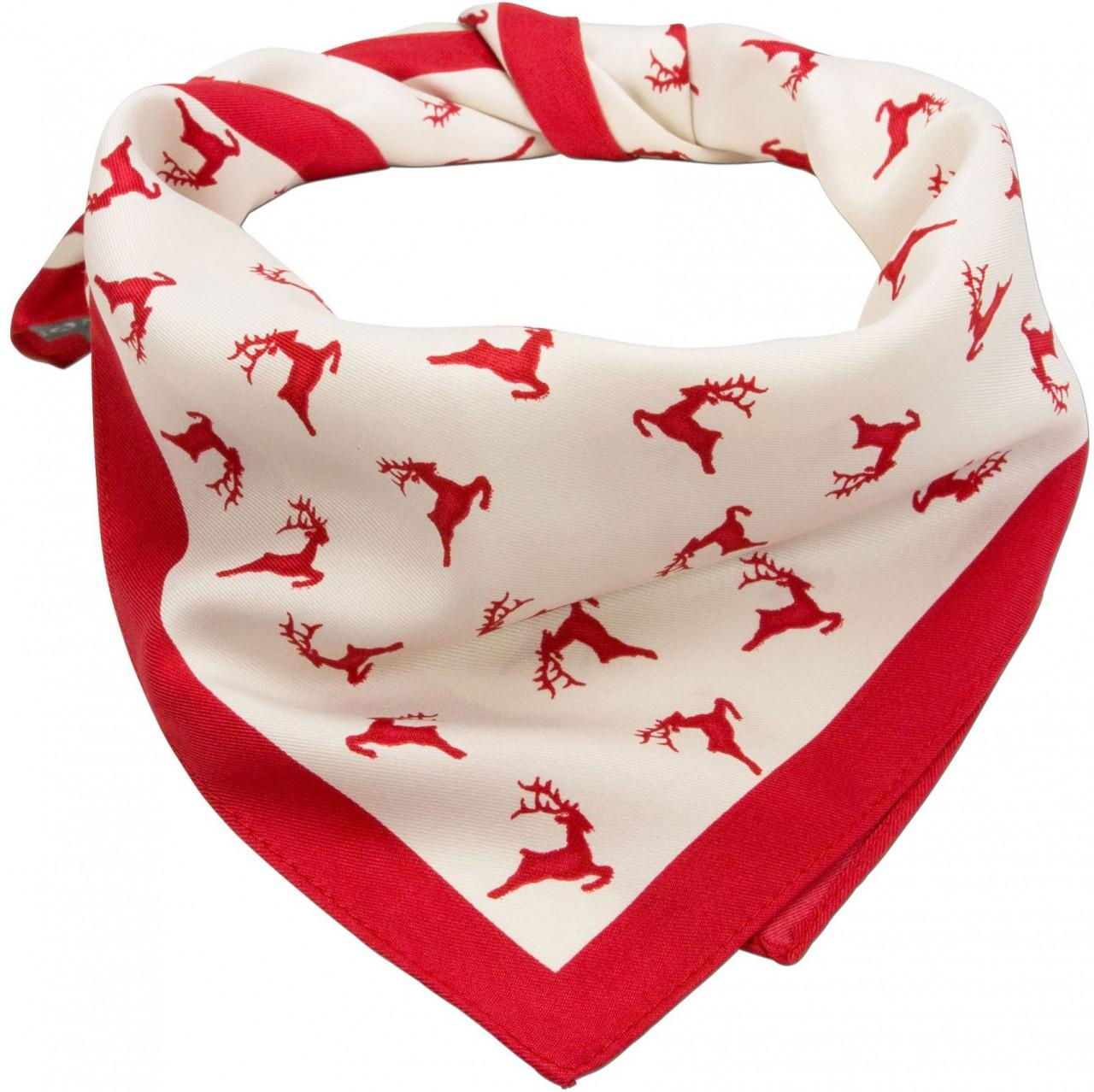 Traditionele doek Hirschfestl rood