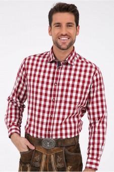 Trachtenhemd Armin rot