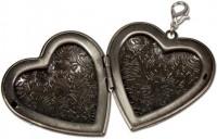Vorschau: Trachten-Anhänger Amulettherz altsilber