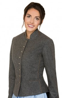 Traditional jacket Ora in gray
