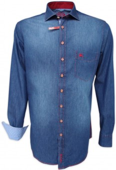 Trachtenhemd Melo Jeans