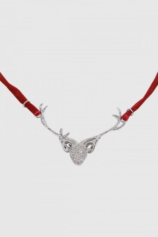 Łańcuch Deer czerwony