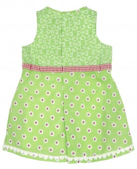 Baby Dirndl grün
