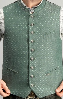 Trachten vest Marc in green