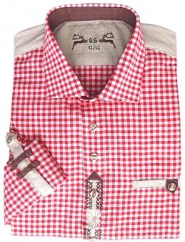 Trachtenhemd Khal rot