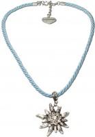 Vorschau: Trachtenkette Amelie hellblau
