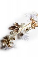 Vorschau: Goldener Haarkranz Daisy