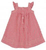 Vorschau: Trachtenkleid rot/weiß