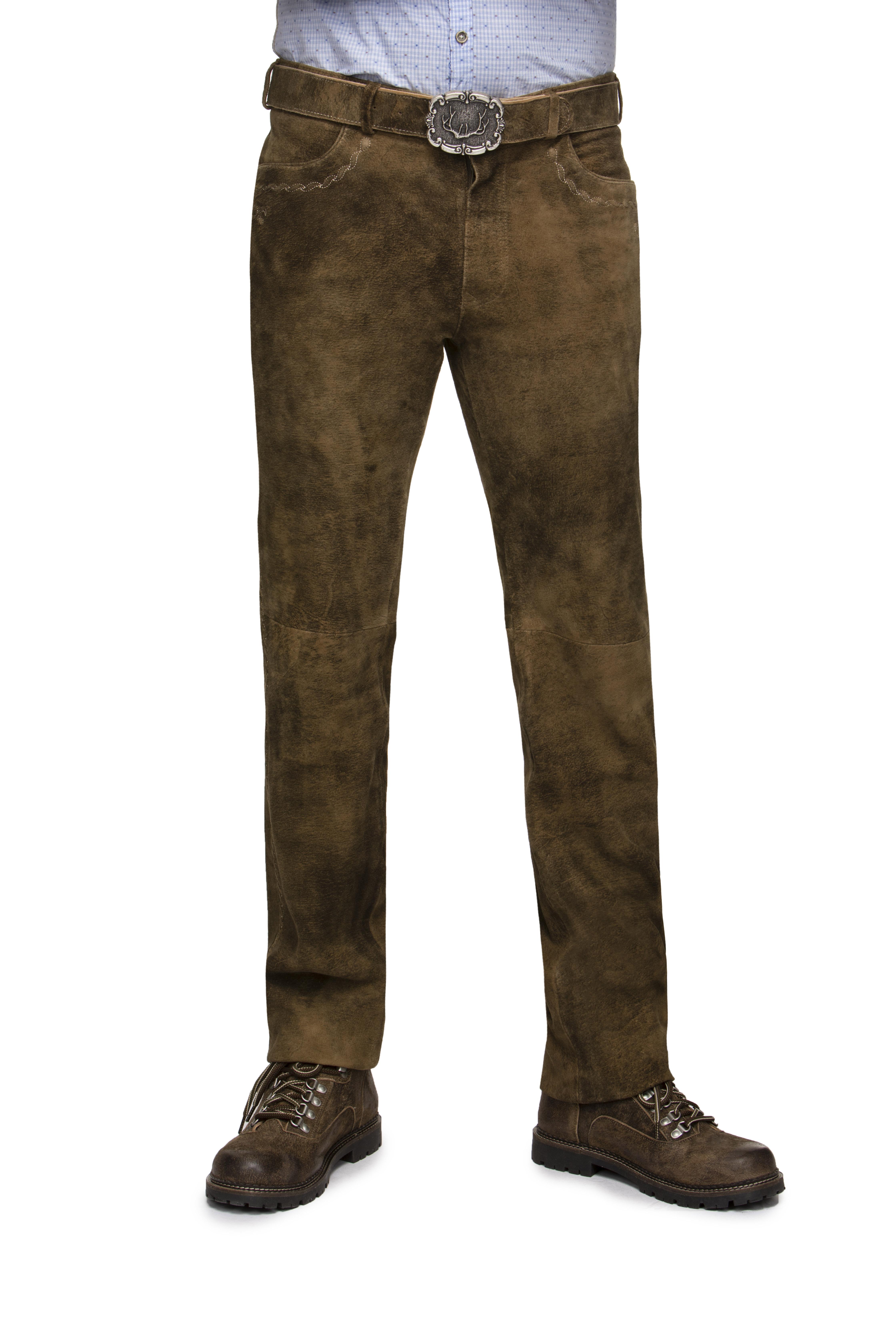 massimo stile stile unico servizio duraturo Pantaloni di pelle Rocco marrone chiaro